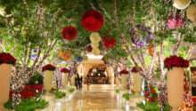Christmas Decor Ideas Las Vegas Garden Party Flowers
