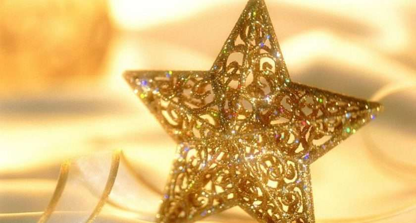 Christmas Decorations Star Ornament
