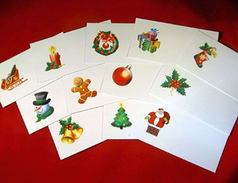 Christmas Festive Place Name Cards Wedding Office Card Holders