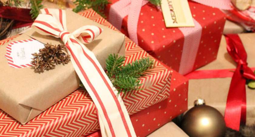 Christmas Gift Wrapping Ideas Ribbon Fynes Designs