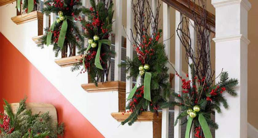Christmas Interior House Decorations Decorate