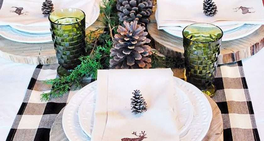 Christmas July Table Decorating Homes