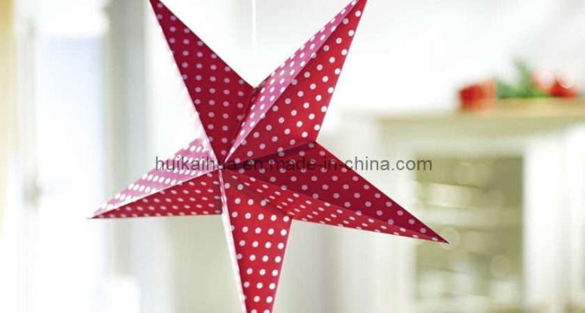 Christmas Light Festival Lantern Decoration Star Hhd