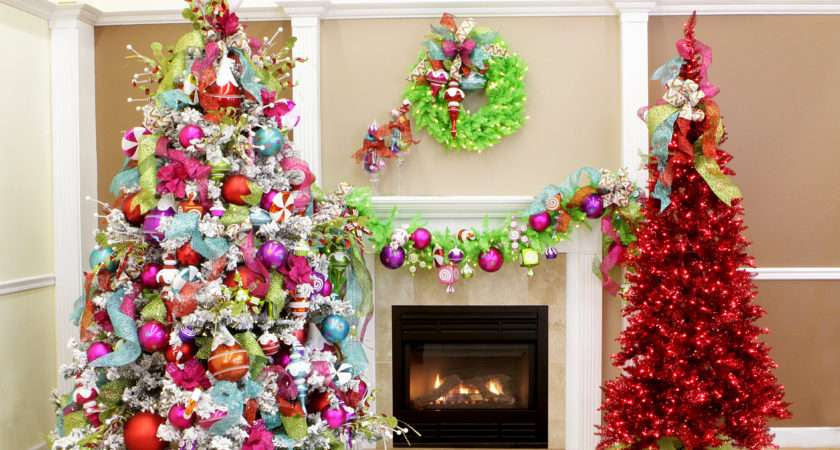 Christmas Never Tasted Sweet Confections Tree Theme