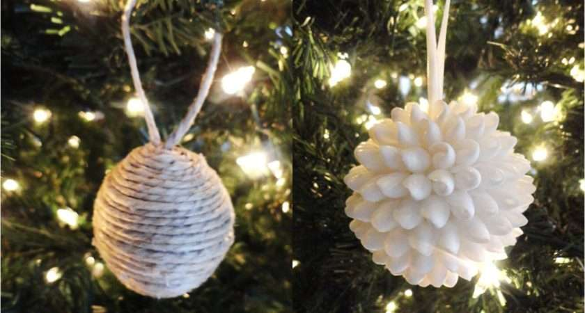Christmas Ornaments Homemade Personalized Ornament Crafts
