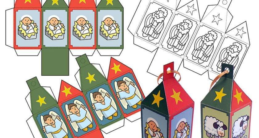 Christmas Paper Decorations Cut Out Papercraftstoys