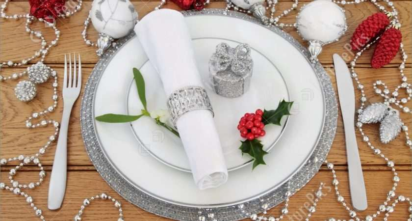 Christmas Place Setting Decorations