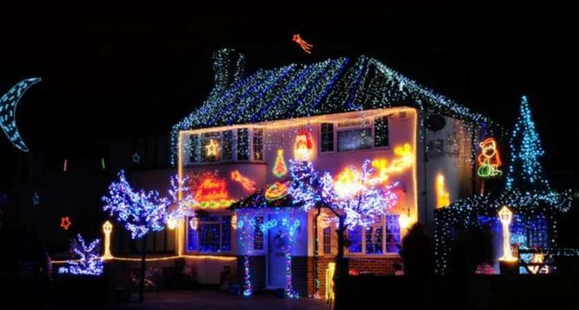 Christmas Search Surrey Best Decorated House