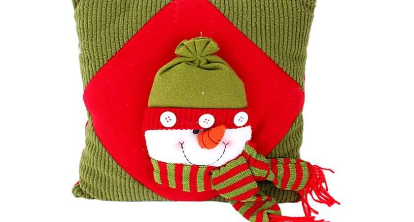 Christmas Snowman Throw Pillow Buy Lowest Prices