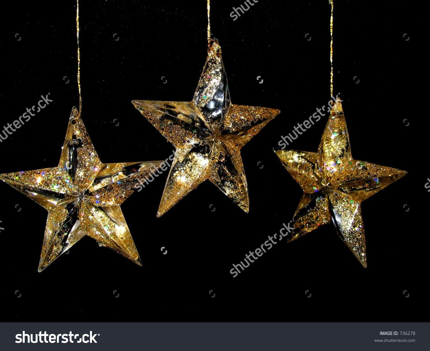 Christmas Star Decorations Shutterstock