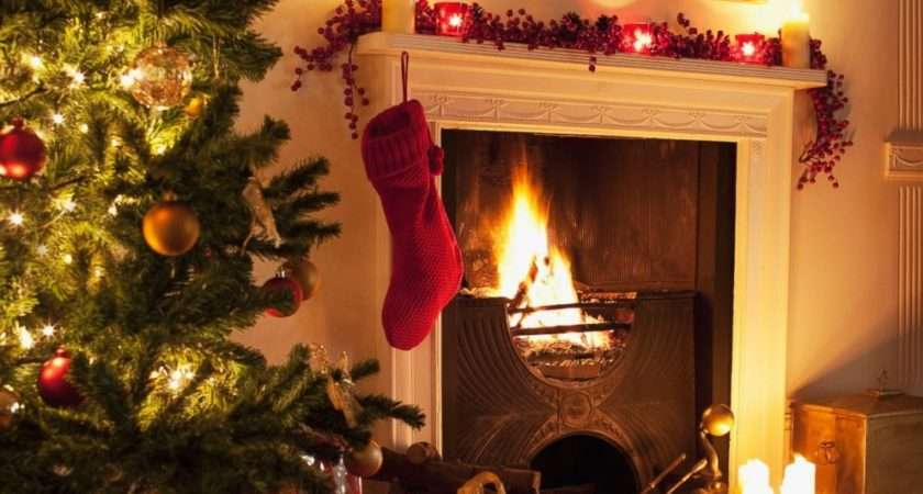 Christmas Stocking Fireplace Best Dresses Collection Design