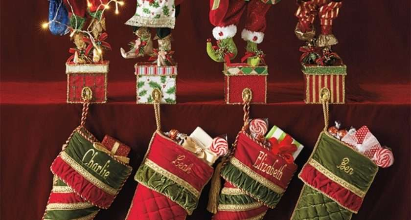 Christmas Stocking Holders Cool Ideas Your