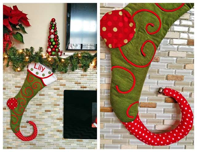 Christmas Stocking Tutorial Pattern