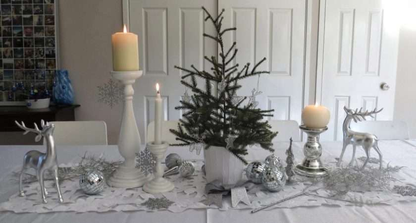 Christmas Table Centerpieces Holiday House Decor Perfect