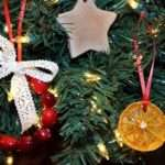 Christmas Tree Decorations Made Natural Materials