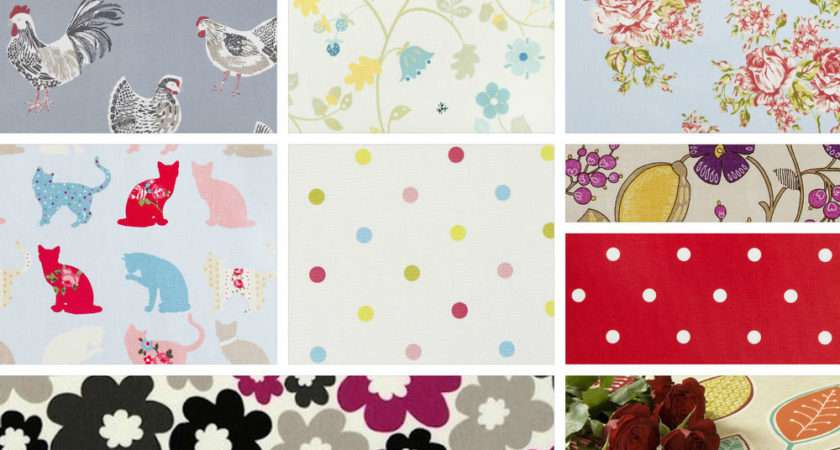 Clarke Pvc Wipeclean Oilcloth Fabric Vintage