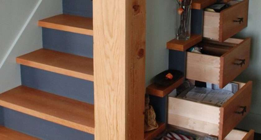 Clever Design Hides Chest Drawers Under Stairs Treehugger