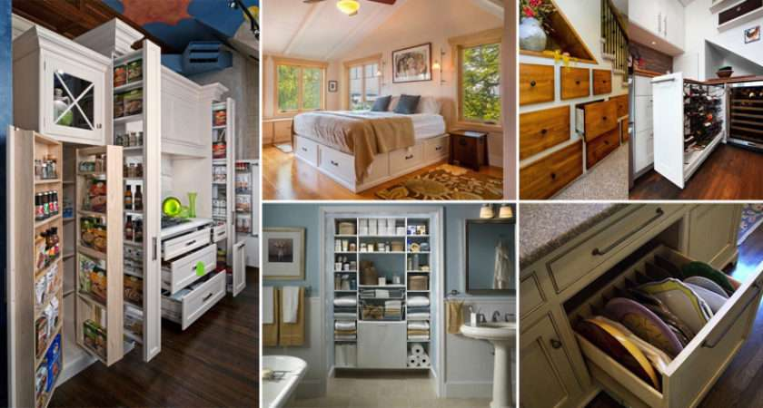 Clever Storage Solutions Around Your Home