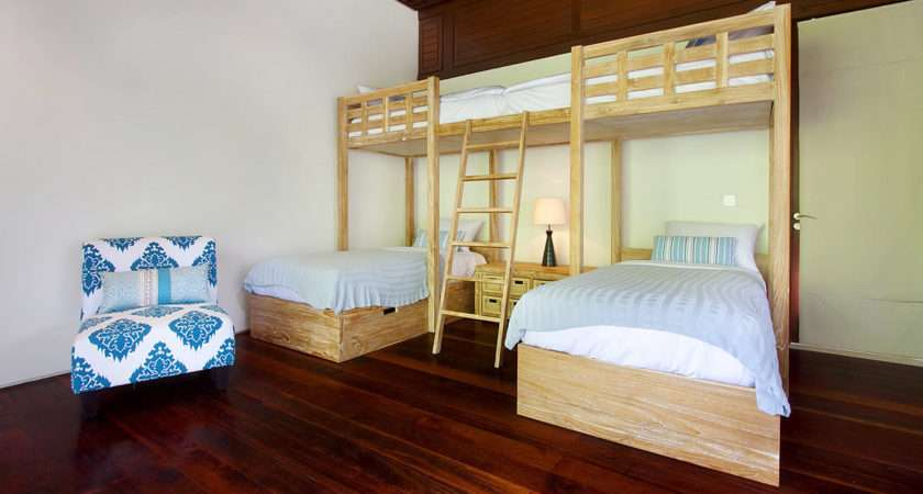 Close Read More Kids Bedroom Has Funky Person Bunk Bed