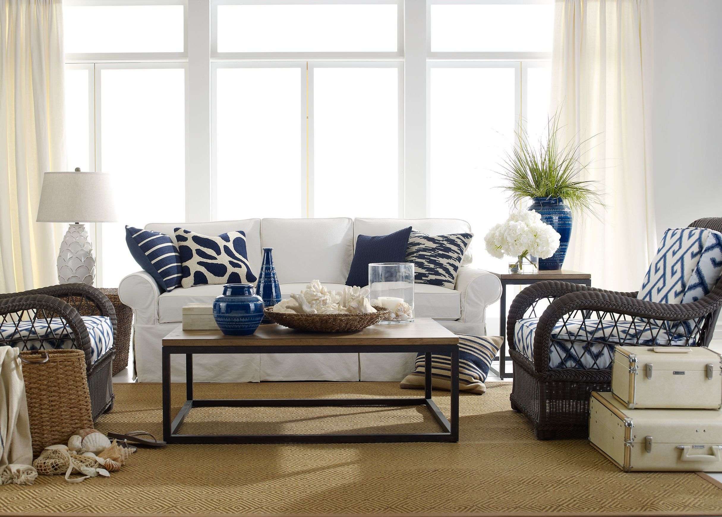 Coastal Living Furniture Room Beach Style Decoration