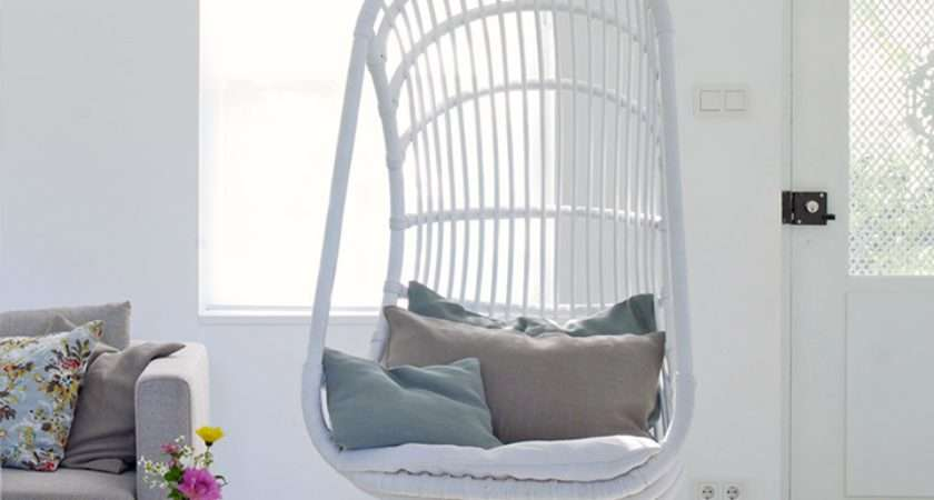 Coastal Style Design Trend Hanging Chair