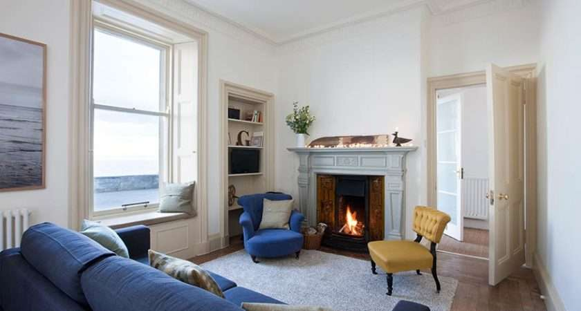 Coastal Vote Edwardian Terraced House Wonderful Sea