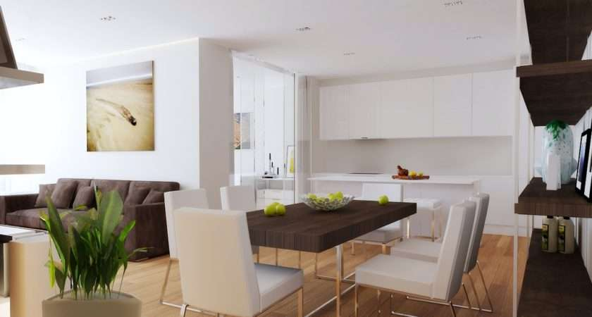 Cohesive Looks Means Modest Shaped Space Appears