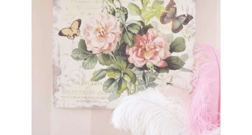 Collection Shabby Chic Canvas Wall Art Ideas