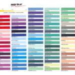 Color Charts All Art Drafting Supply