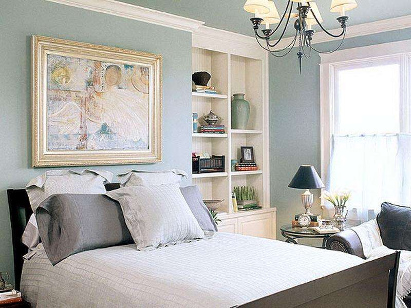 Color Feeling Soft Warmth Pale Blue Green Paint Bedroom