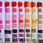 Color Mixing Acrylic Paint Chart