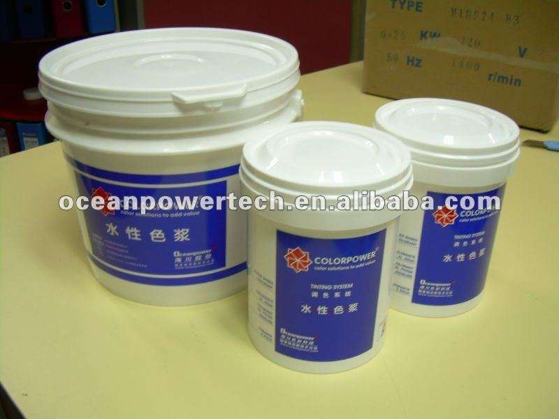 Colorants Merlin Water Based Color Emulsion Paints