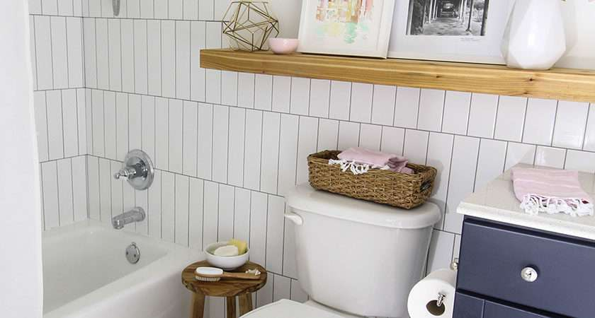 Colored Grout New Tile Create Fresh Bathroom Look