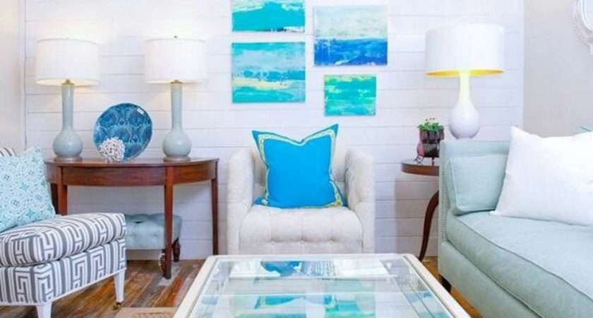 Colorful Beach Themed Living Room Pinterest
