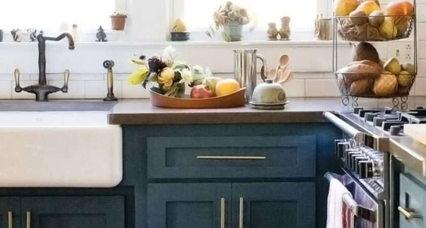 Colorful Kitchen Cabinets Add Spark Your Home