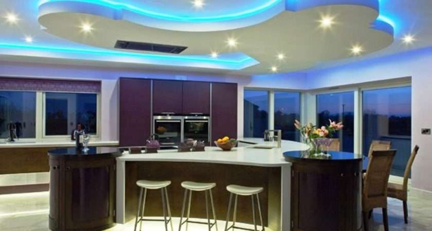 Colorful Modern Kitchen Island Designs Tips Home
