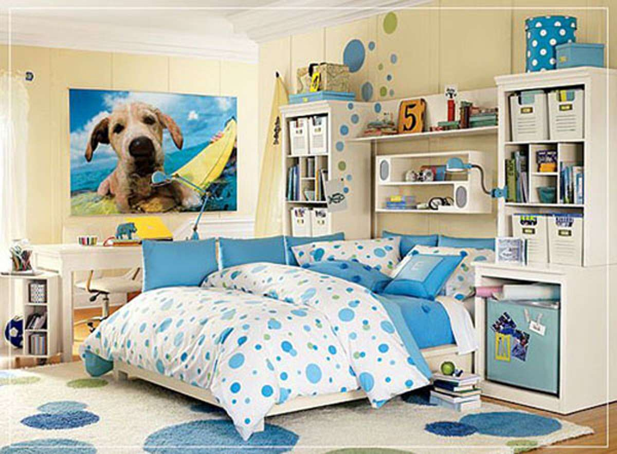 Colorful Teen Room Decor Ideas One Total Color Inspiration