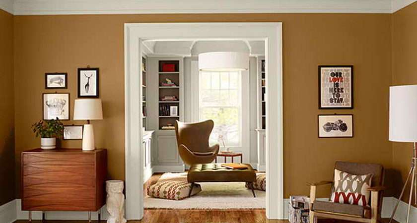 Colors Living Rooms Warm Paint Room