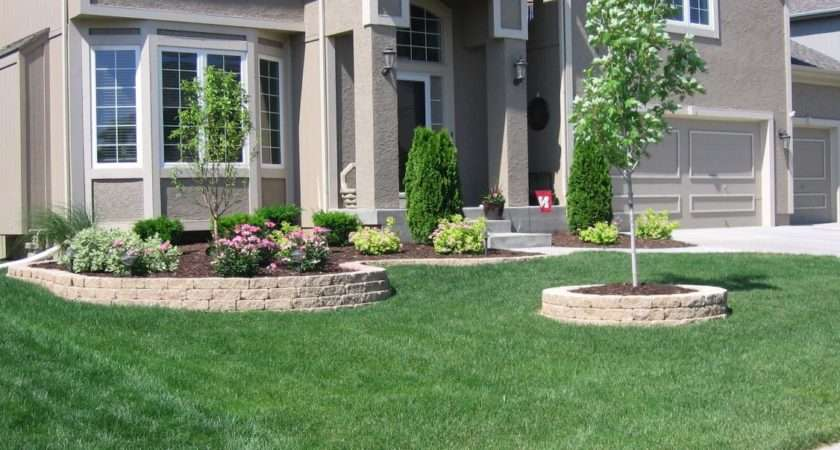 Combined Front Yard Ideas Landscape Designs Your Home