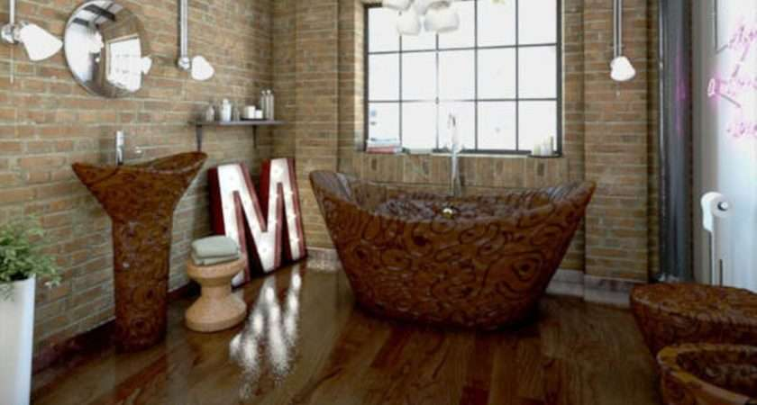 Completely Chocolate Bathroom Can Yours Just
