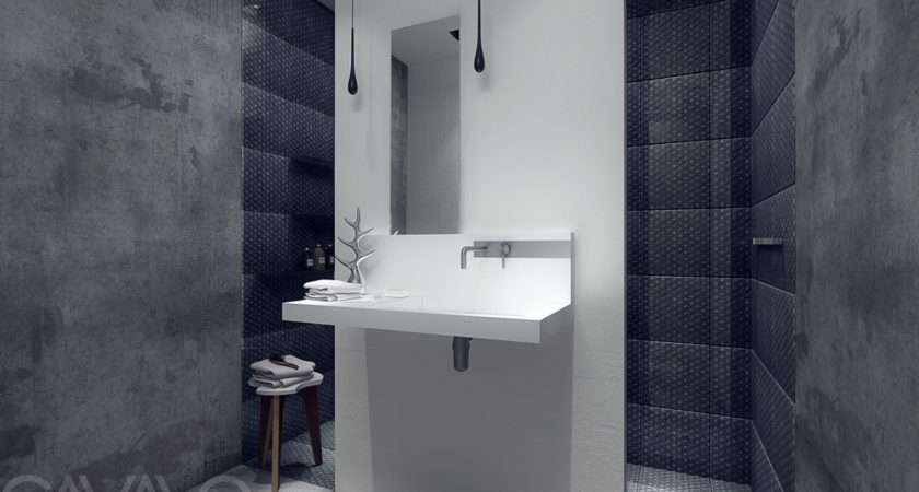 Concrete Bathroom Interior Design Ideas