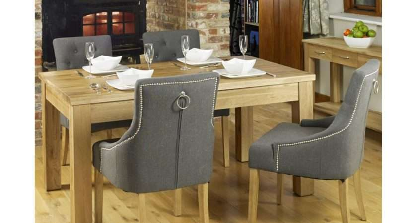 Conran Solid Oak Furniture Dining Table Four Luxury