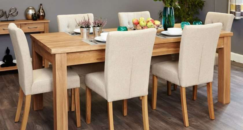 Conran Solid Oak Furniture Extending Dining Table Six