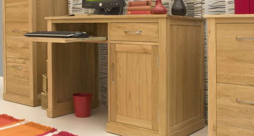 Conran Solid Oak Modern Furniture Small Single Pedestal