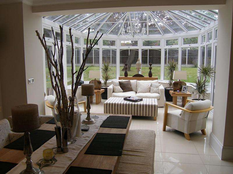 Conservatory Dining Living Room Flooring