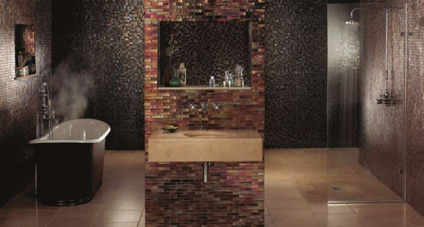Contemporary Bathrooms Fired Earth
