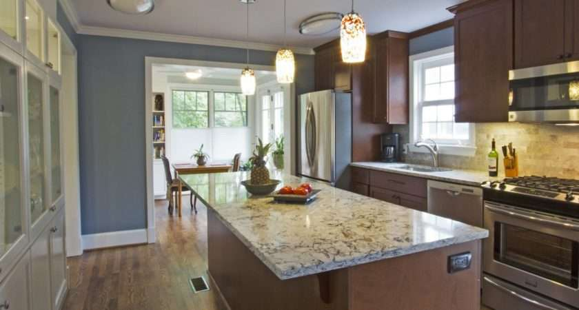 Contemporary Better Small Galley Kitchen Designs