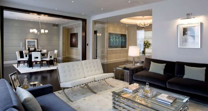 Contemporary Furnishings Provide Airiness Your Interiors