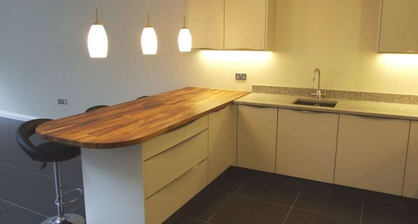 Contemporary Handleless Kuhlmann Kitchens Our Latest Project