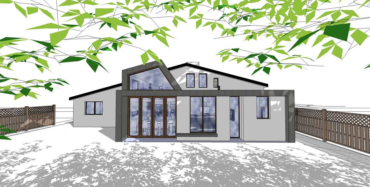 Contemporary House Extension Helen Bay Architect Belfast